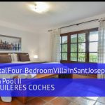 Four-Bedroom Villa in Sant Josep de Sa Talaia / San Jose with Pool II, booking al mejor precio
