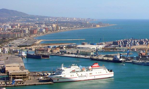Alquiler coches Málaga puerto